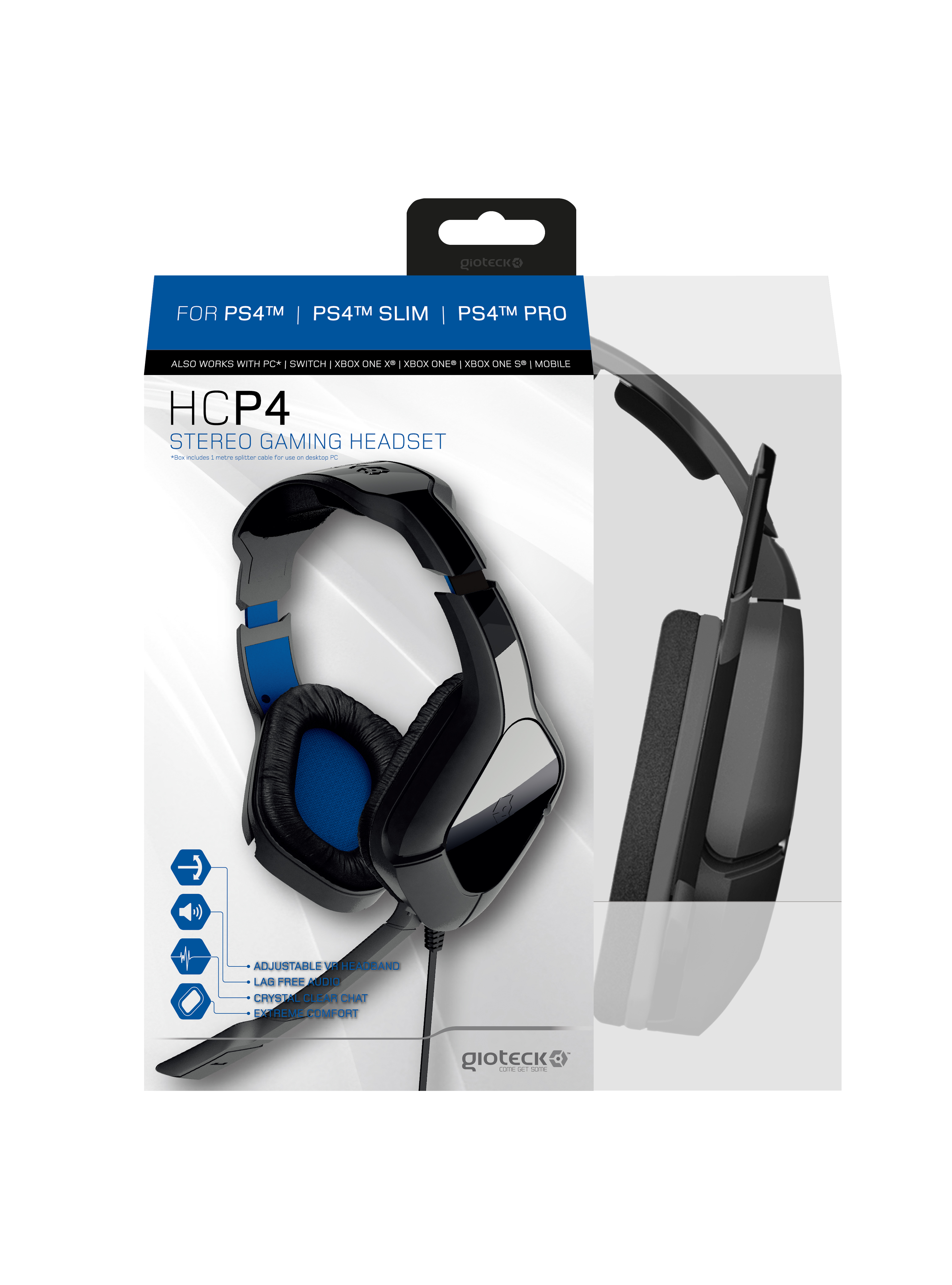 Gioteck Hcp4 Gaming Headset Nordic Game Supply Basic Mobile To Pc Cable Release Date Out Now Type Headsets