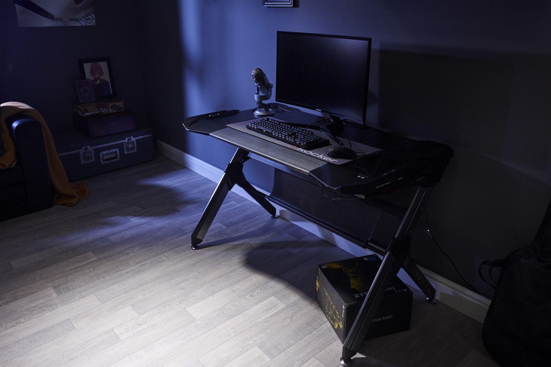 Xrocker Lynx Rgb Gaming Desk Nordic Game Supply