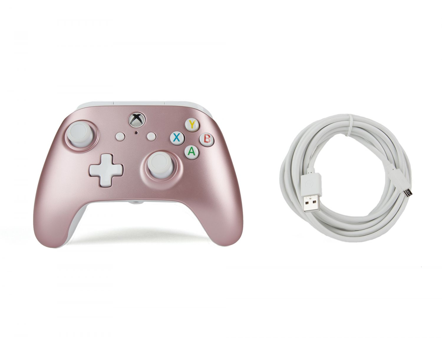 POWERA XB1 ENHANCED WIRED CONTROLLER - ROSE GOLD | Nordic